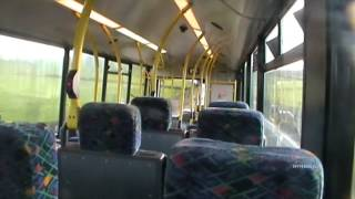 Huddersfield Bus Company MAN 14.220 MCV Evolution 652 BC05 JHO - Screaming! 15/12/12 (HD)