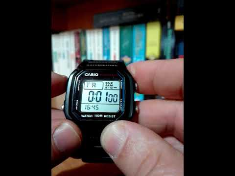 Casio W800h 1 aves con Countdown timer