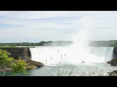 HD nature screen: Niagara Falls scenery