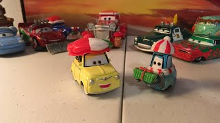 Disney Cars Christmas Luigi and Guido diecast review