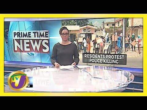 Residents Protest Police Killing in Red Hills Kingston, Jamaica | TVJ News