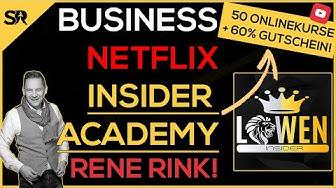 Insider Academy Erfahrungen 🥇 -  Business NETFLIX für 6 stelligen Umsatz Game Changer von Rene Rink