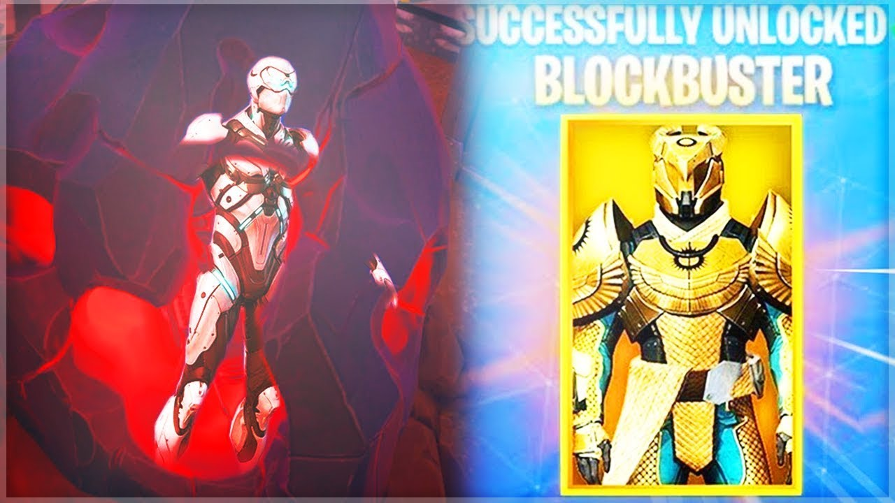 The *NEW* Blockbuster Skin.. INSIDE THE METEOR! - Blockbuster UPDATE in Fortnite: Battle Royale!
