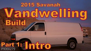 Build a Van to Live in, GMC Savanah 2500