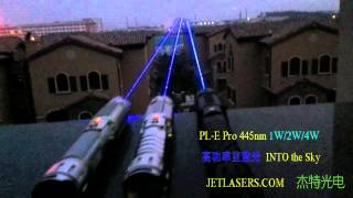 A LITTLE WARM UP BEFORE NIGHT FALLS DEEP, JETLASERS HANDHELD LASERS