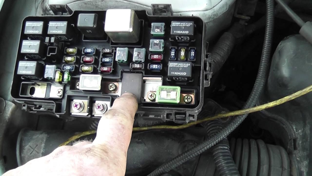 2002 Honda Crv Fuse Box Diagram Kubota Wiring Eld Electric Load Detection P1298 - Youtube