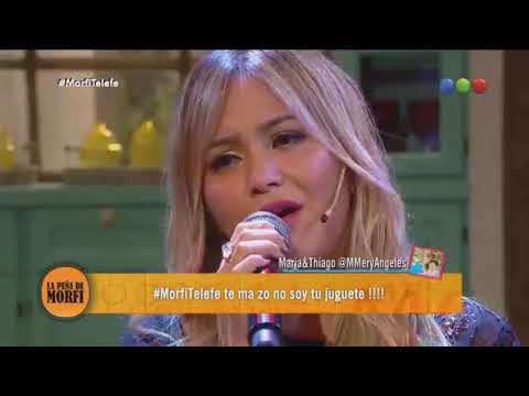 Karina - No Soy Tu Juguete - Acústico (La Peña De Morfi 15/04/18)