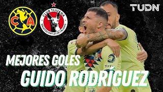 ¡Los mejores goles de Guido Rodríguez en Liga Mx! | TUDN