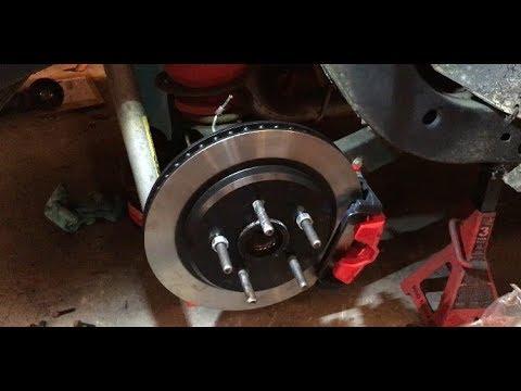 G body Rear Big Brake Upgrade How-To - '84 Cutlass Pro-Tourer