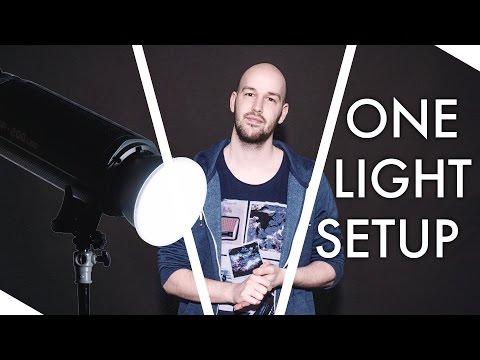 Wie YouTube Video ausleuchten mit nur einer Lampe? Lichtsetzung Tutorial