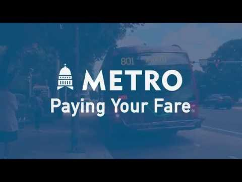 Paying Your Fare