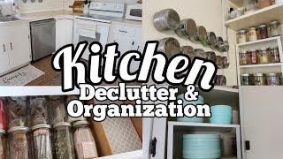 2019 Kitchen Organization and Declutter