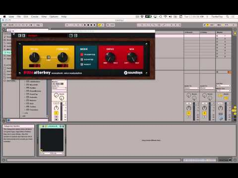 Little AlterBoy MIDI Pitch Control in Ableton Live 9