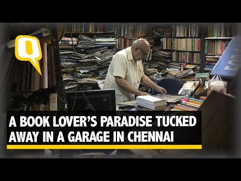 A Book Lover's Paradise Tucked Away In A Garage In Chennai | The Quint