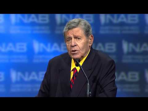 Presentation of the NAB Distinguished Service Award to Jerry Lewis