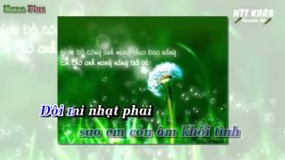 [Karaoke] Sao Em Còn Ôm Gối Mộng - Hồ Quang Hiếu (beat gốc)