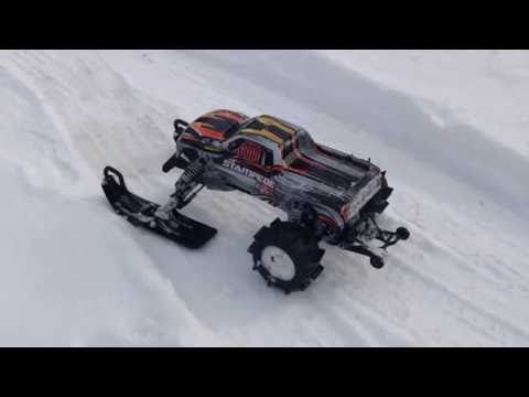 Traxxas Stampede Snowmobile  at Park להורדה