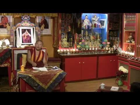 Awarenesses and Knowers with Geshe Ngawang Tenley - 2016-06-15