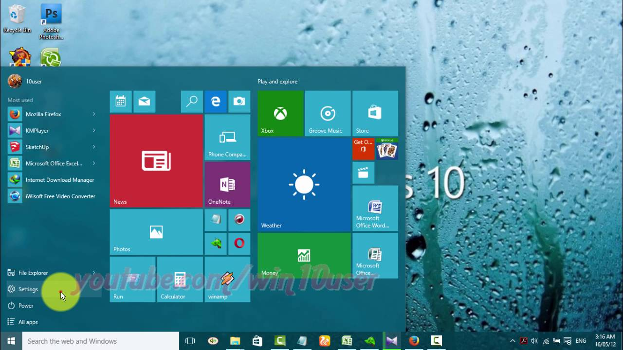 Windows 10 : How to Turn on or turn off Microsoft Edge run in Background