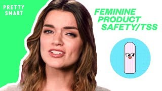 THE TRUTH ABOUT WHAT'S REALLY IN YOUR TAMPONS | PRETTY SMART
