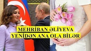 Mehriban Əliyeva uşağa qalıb.?! VİDEO