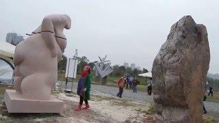 "Beata Rostas sculptures/""Creator/ Az alkotó""- China, Changsha 2015"
