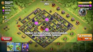 Clash of clans a manha vai ser treta
