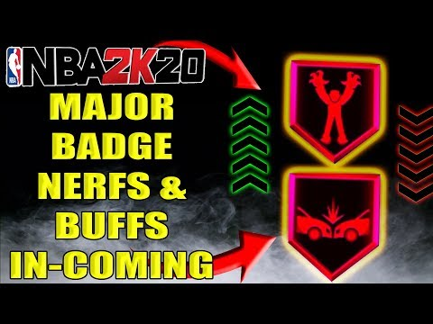 NBA 2K20 NEWS - MAJOR PATCH WITH BUFFS AND NERFS FOR BADGES IN-COMING & MORE