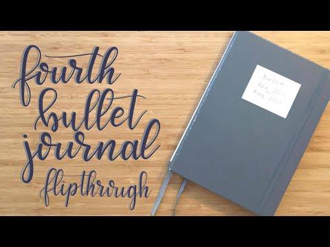 Flip Through | My Fourth Bullet Journal