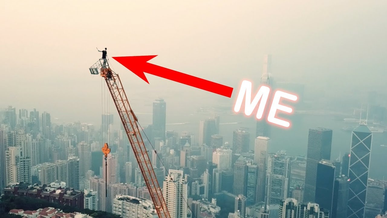 I Hope This Crane Is Just Hiding Other >> Dodging Security To Climb Highest Crane In Hong Kong Youtube