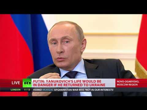 FULL VIDEO: Putin speaks Ukraine, Yanukovich, Maidan, Crimea