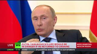 FULL VIDEO: Putin speaks Ukraine, Yanukovich, Maidan, Crimea