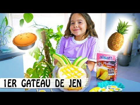 le-gateau-ananas-de-jen-!-🍍-/-diy-déco-ananas