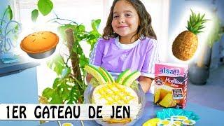 LE GATEAU ANANAS DE JEN ! 🍍 / + DIY Déco Ananas