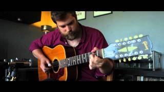 """Living in the Country"" by Pete Seeger, arr. Leo Kottke - 12 String Fingerstyle Guitar"