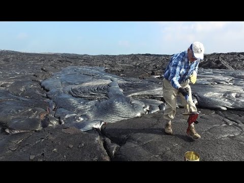 Kilauea: Up close and personal with red hot science! - Science Nation