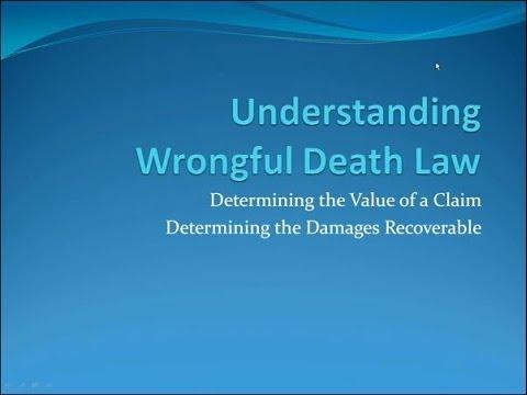 Understanding Wrongful Death Law in Washington State - Avvo Presentation by Attorney Chris Davis