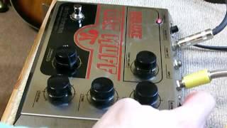Vintage Electro-Harmonix Deluxe Big Muff (Junk) Function Test