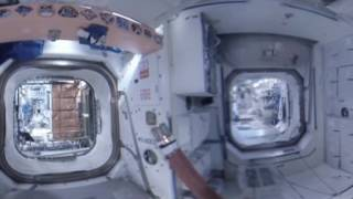 SPACE 360 Part 3: Panoramic tour through cosmonauts' favorite locations on Intl Space Station