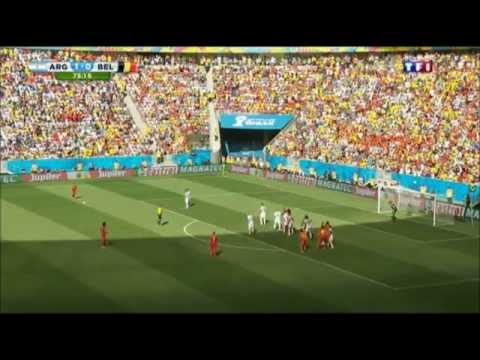 Argentine - Belgique 2014 résumé
