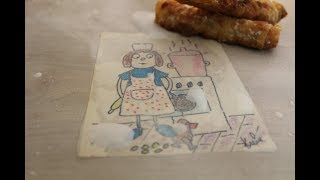 Вытяжное тесто для пахлавы, пирогов и пирожков