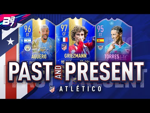 PAST AND PRESENT ATLETICO MADRID SQUAD BUILDER! | FIFA 19 ULTIMATE TEAM