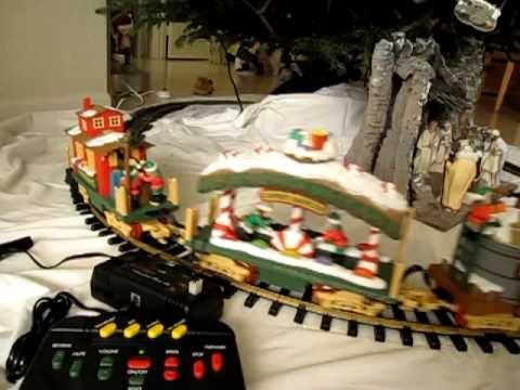 Merry Christmas 2010 Newbright Holiday Express Train Set