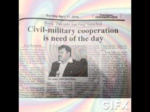 Civil military cooperation is need of the day-Zabir Saeed Badar