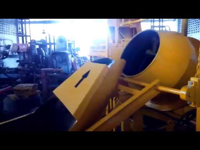 hydraulic mixer machine with hopper & liftting hoist mixer with lift, construction hoist