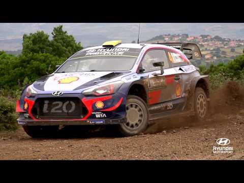 Rally Italia Sardegna Best of: Slo-mo - Hyundai Motorsport 2018