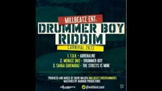 Drummer Boy Riddim Mix By Dj Scooby 2013 soca Trinidad & Tobago