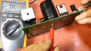 런닝머신인버터수리 컨트롤러 회로수리 오픈프레임 점검하는…