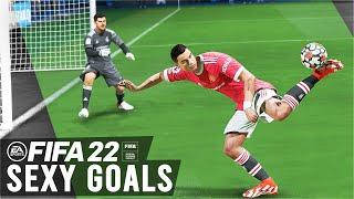 FIFA 22 - TΟP 10 BEST GOALS🔥🔥! Ft. OVERHEAD KICK,SCORPION KICK!,TRIVELA FREE KICK!