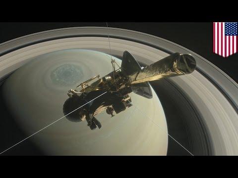 Cassini Saturn mission: NASA's Cassini spacecraft enters 'Grand Finale' orbits - TomoNews